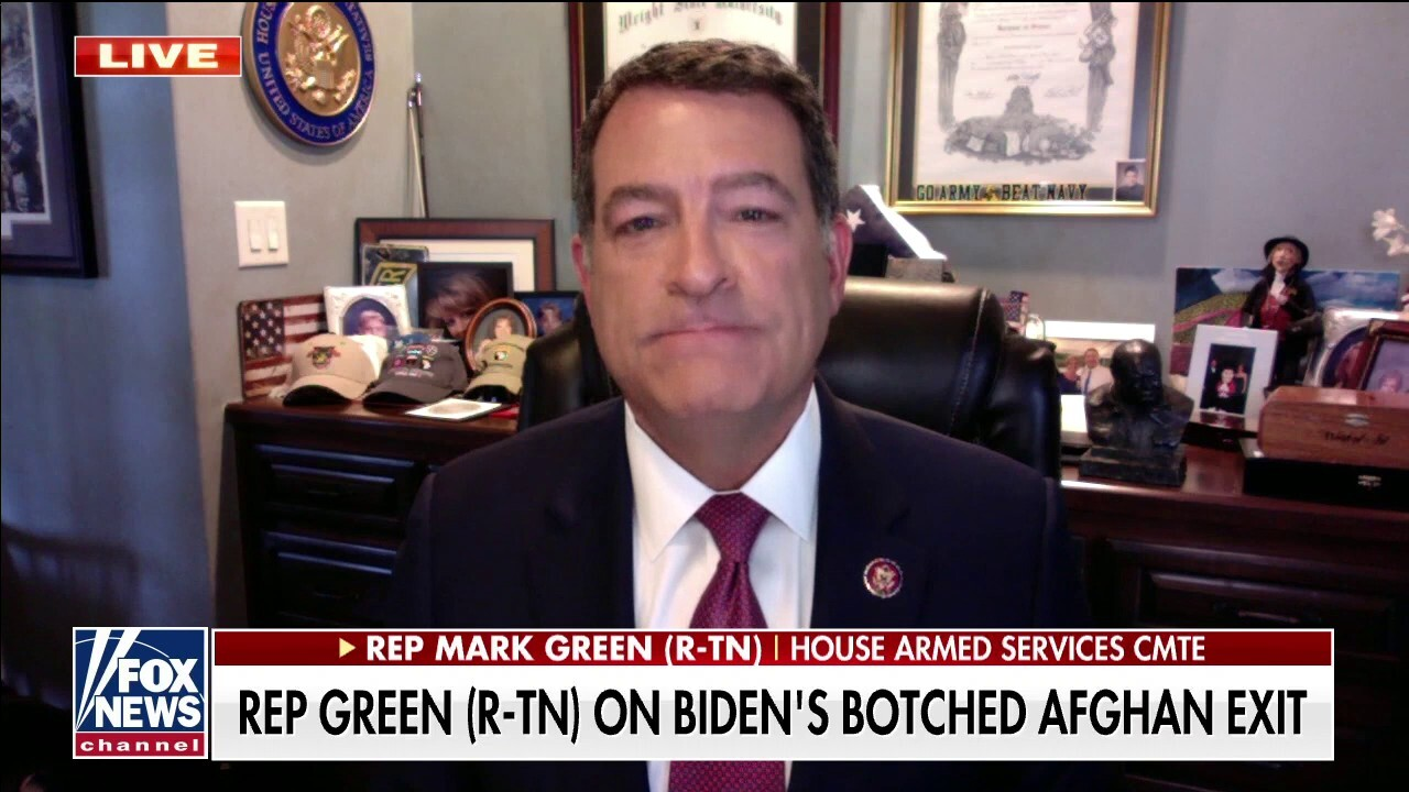 Rep. Mark Green: 'We've seen nothing but failure' from the Biden admin