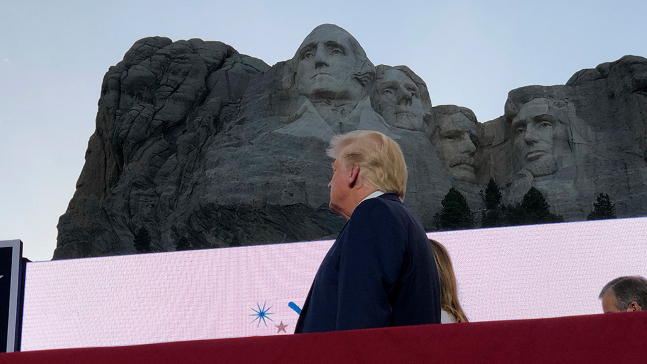President Trump's Mount Rushmore speech draws partisan rebuke