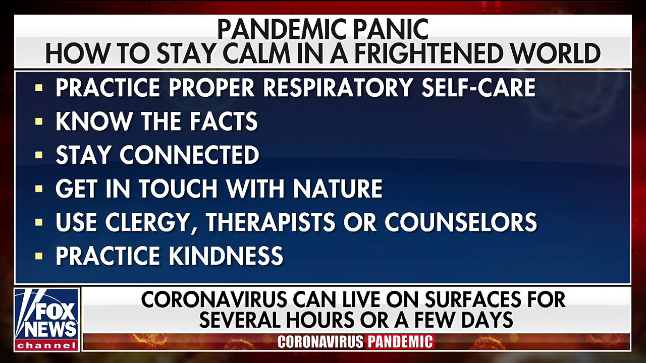 Tips to stay calm, overcome fears during COVID-19 pandemic