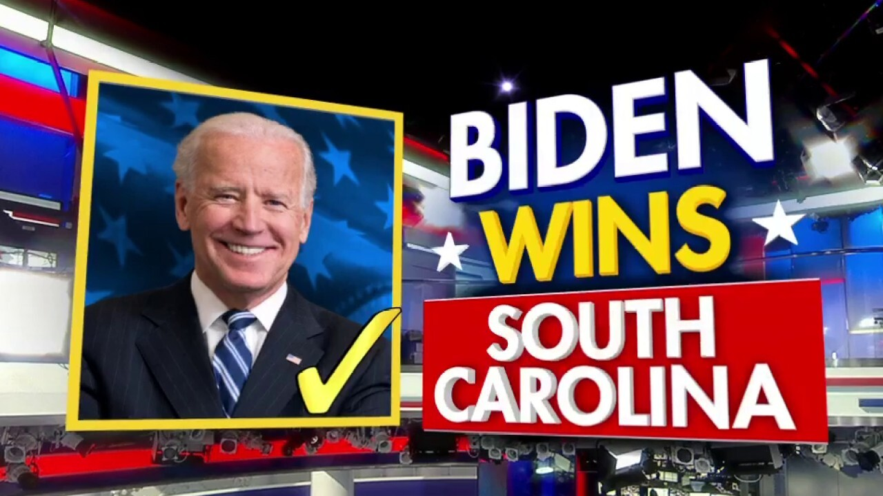 Joe Biden wins South Carolina Democrat primary