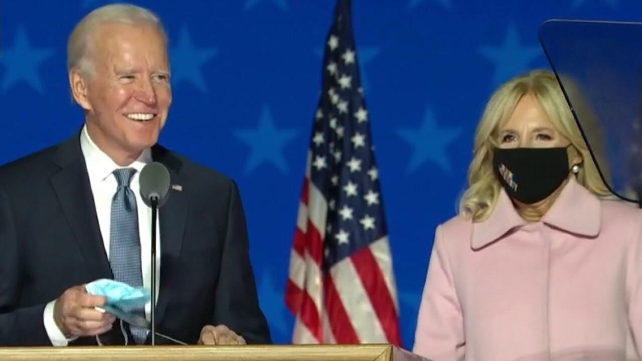 Joe Biden: We are on track to win this election