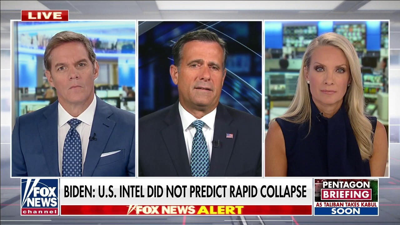 John Ratcliffe: 'You don't need to be an intelligence expert to see what happened'