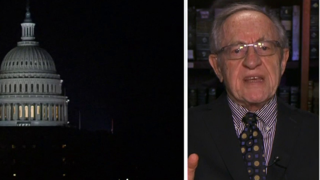 Dershowitz blasts Democrats' impeachment push: 'They just want to have the accusation hanging over' Trump