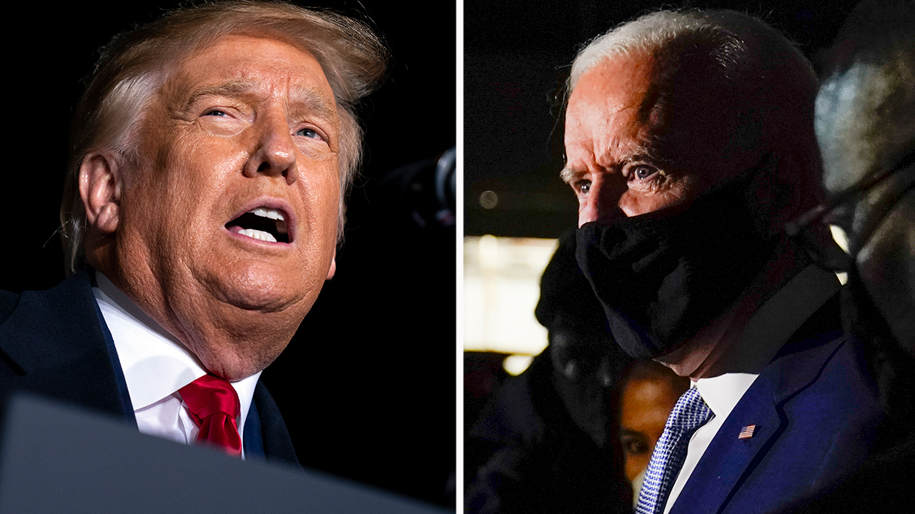 Contrasting Biden vs. Trump town hall questions