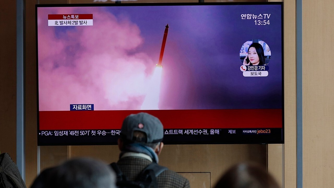 North Korea fires two unidentified projectiles