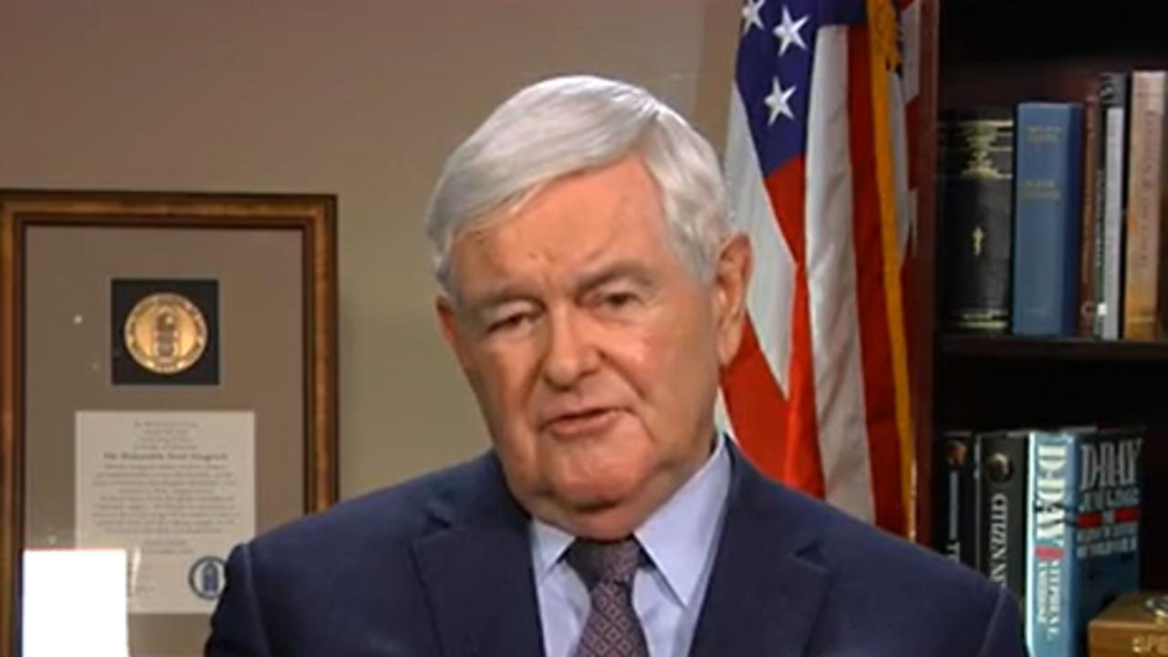 Newt Gingrich reveals President Trump's greatest challenge