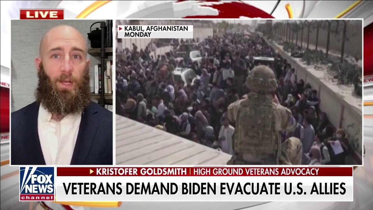 Veteran groups ask President Biden for meeting over troop withdrawal in Afghanistan