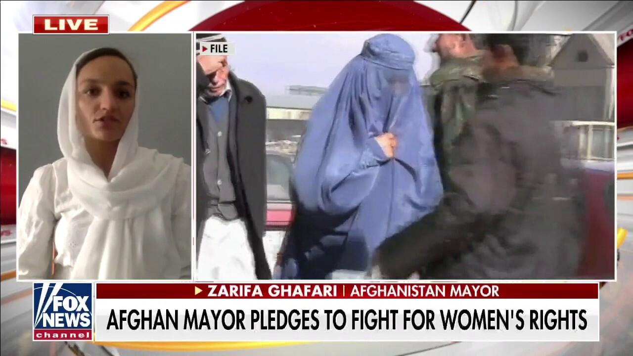 Female Afghan mayor: 'The Taliban will kill women like me'