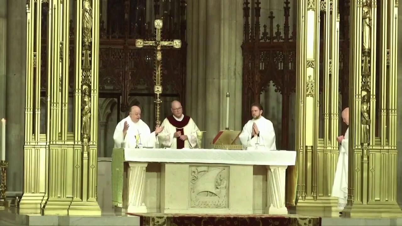 Saint Patrick's Cathedral Mass: Monday, June 1