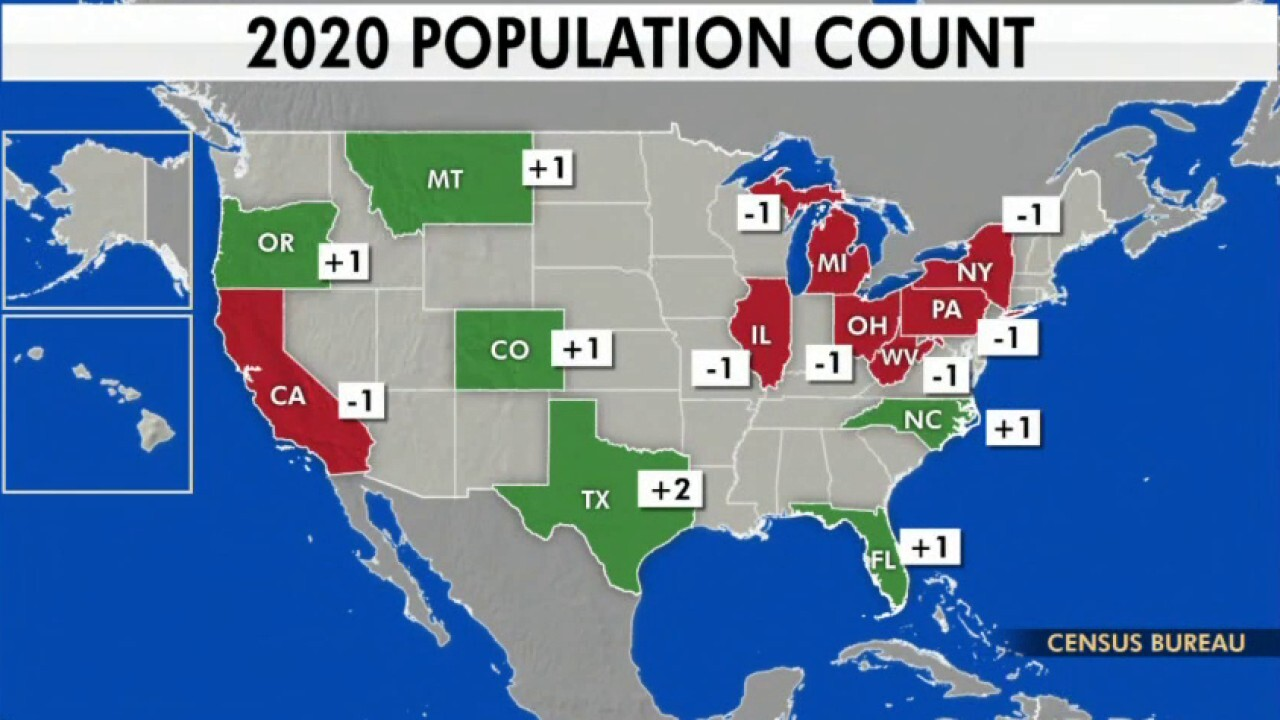 Census results reflect favorable future for GOP