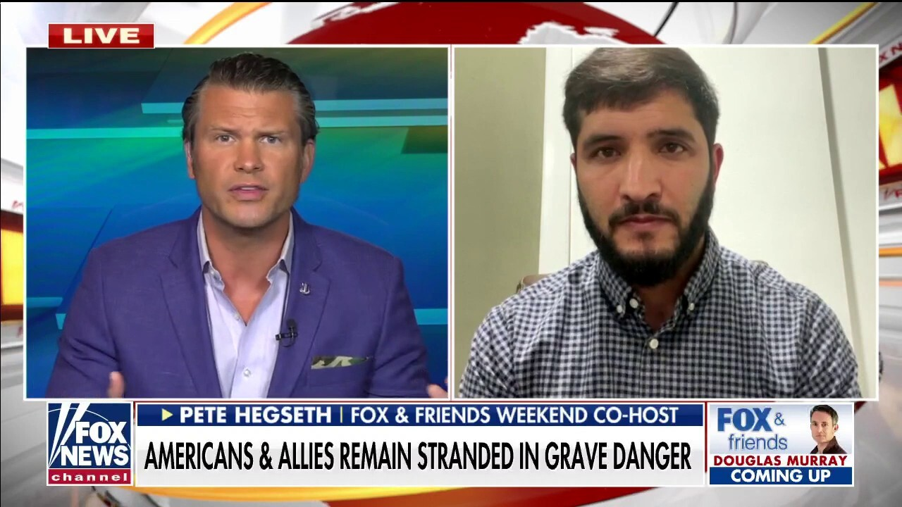 Pete Hegseth helps his former translator's brother get out of Afghanistan