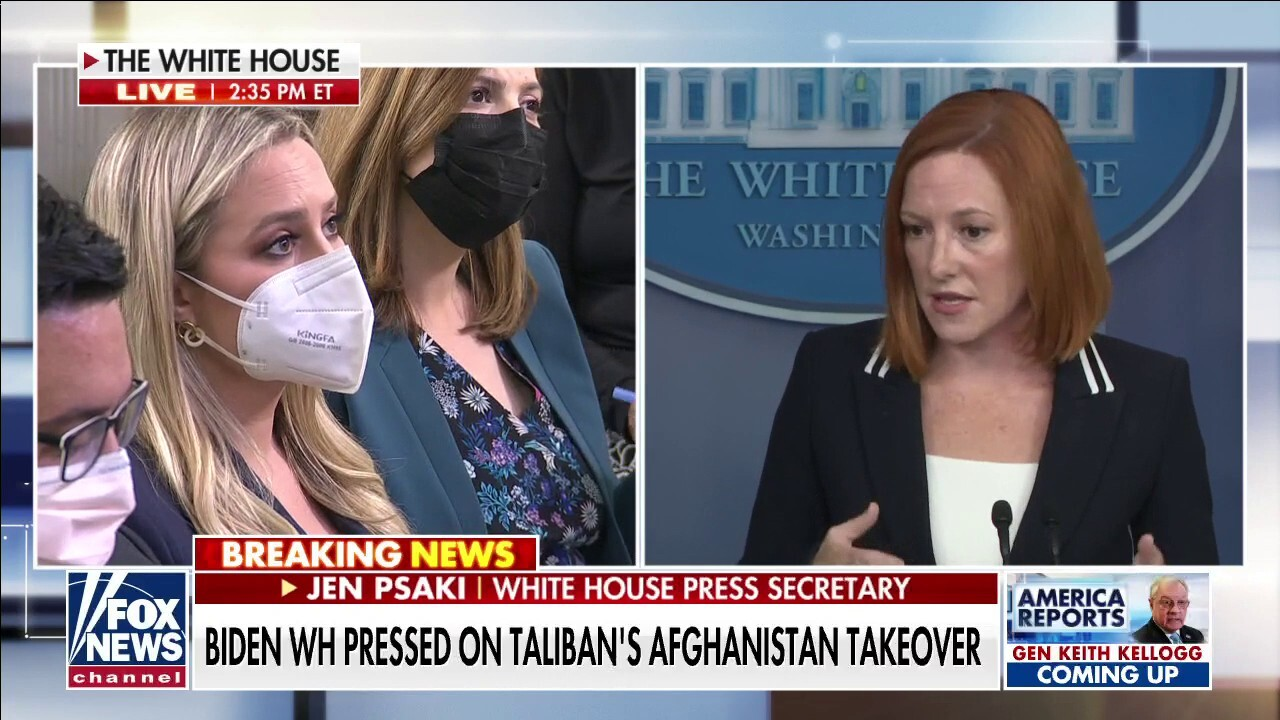 Psaki: No one is saying that the Taliban are good actors