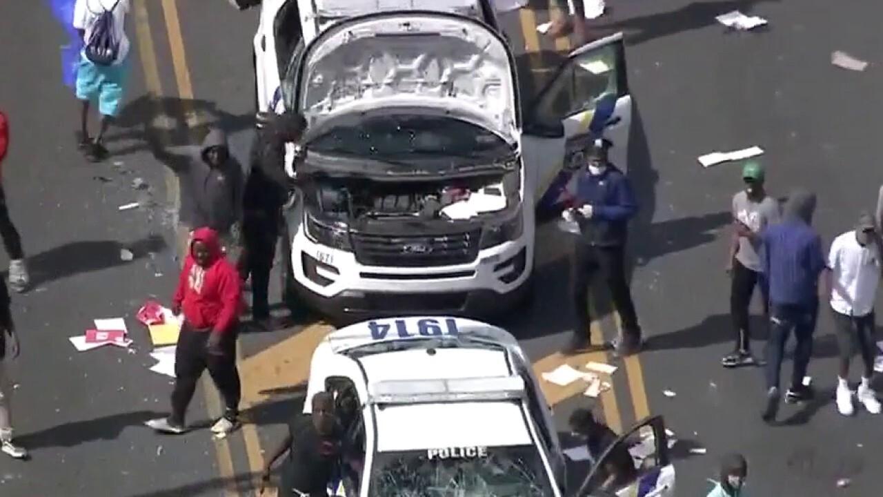 Violence erupts in Philadelphia