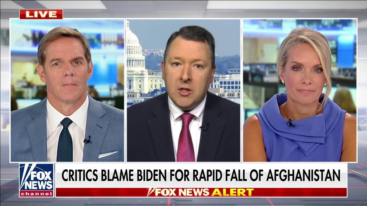Critics blame Biden for rapid fall of Afghanistan