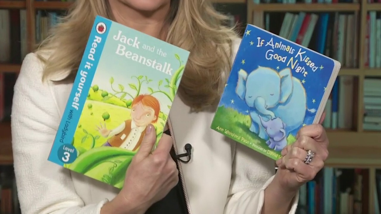 Dana reads 'If Animals Kissed Goodnight' and 'Jack and the Beanstalk'