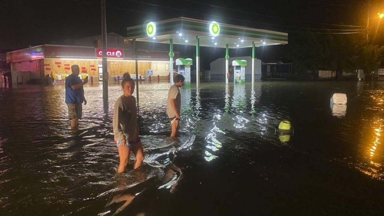 Hurricane Isaias brings significant storm surge to South Carolina coast