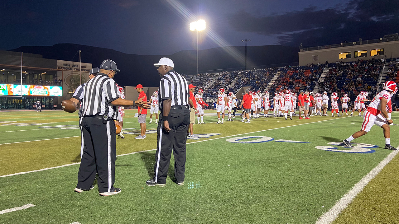 Las Vegas schools face referee shortage because of COVID-19 concerns, bad sportsmanship