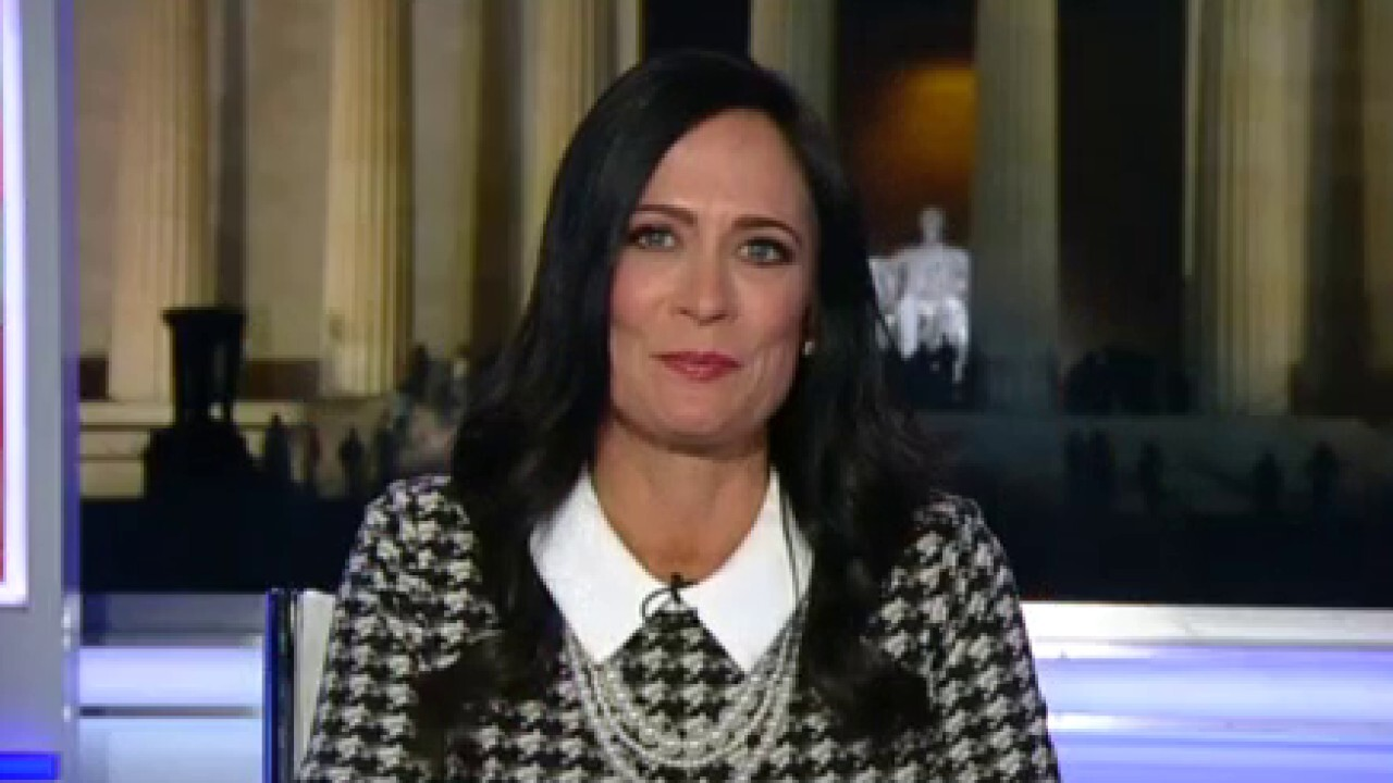 Stephanie Grisham says President Trump's comments at off-the-record lunch with journalists were leaked