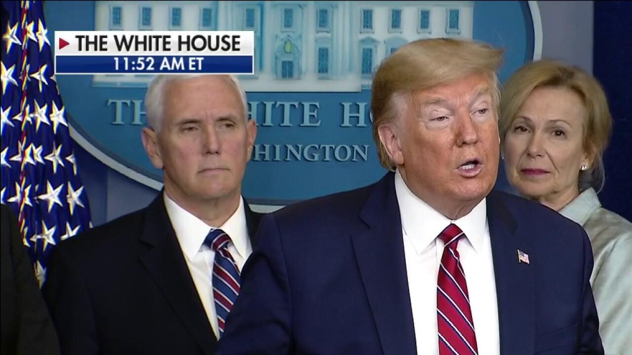 President Trump announces good news on taxes, student loans