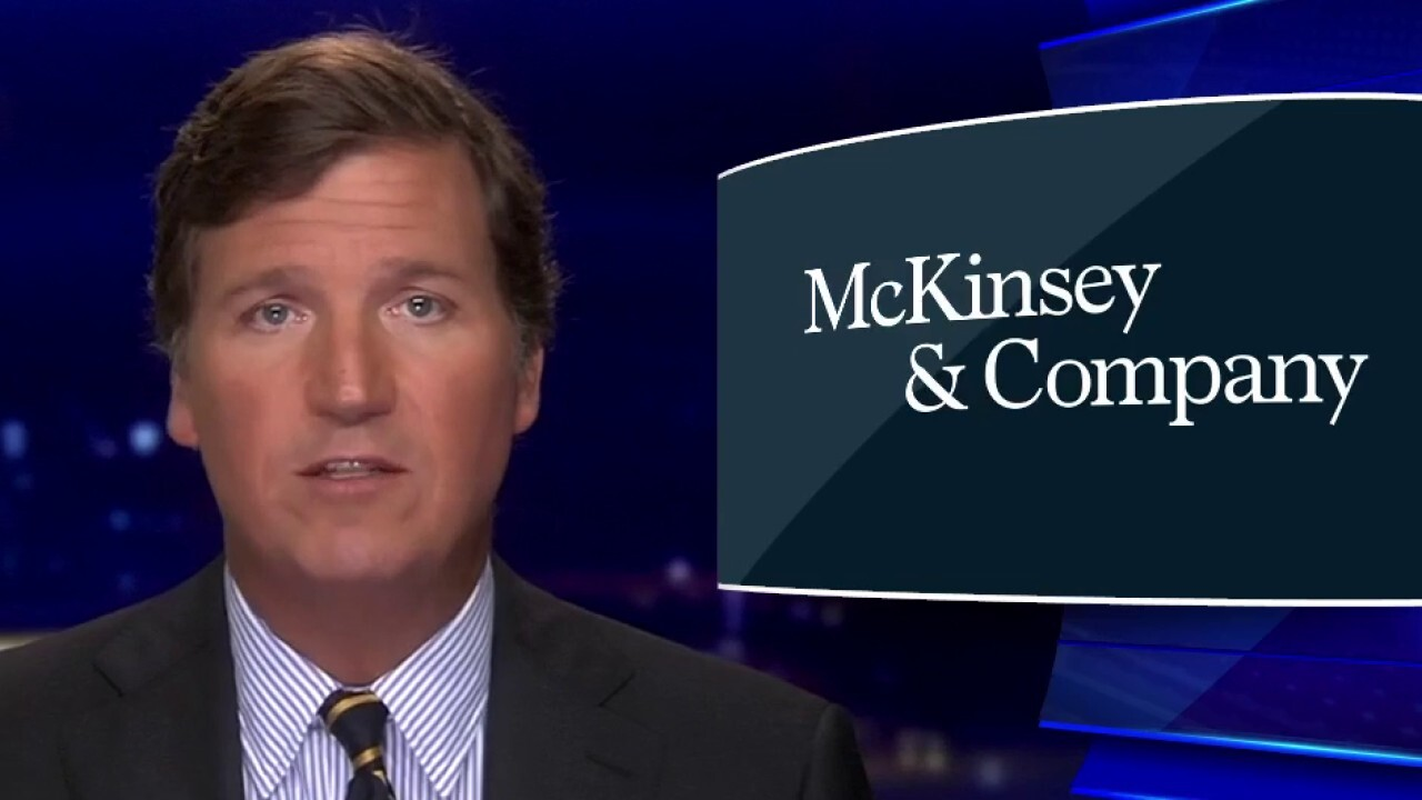 Tucker uncovers McKinsey & Company's extensive ties to China
