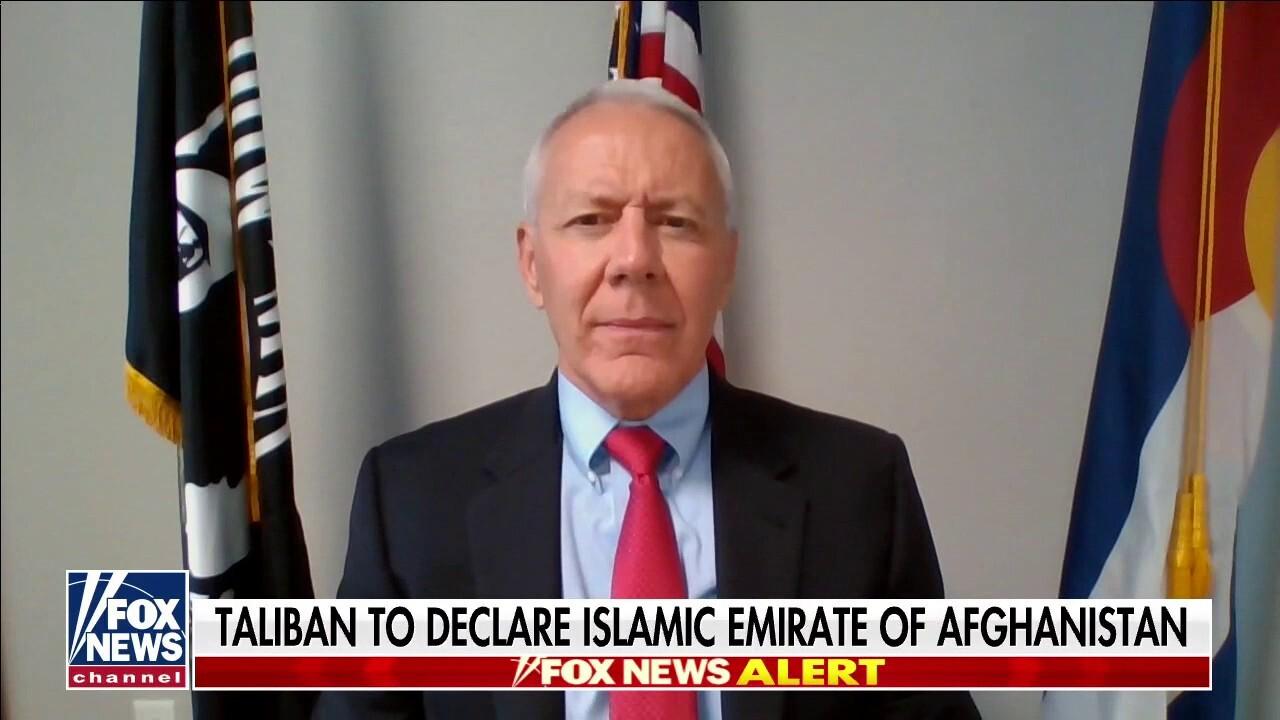 Rep. Buck blasts Biden as 'weak' president amid Afghan collapse
