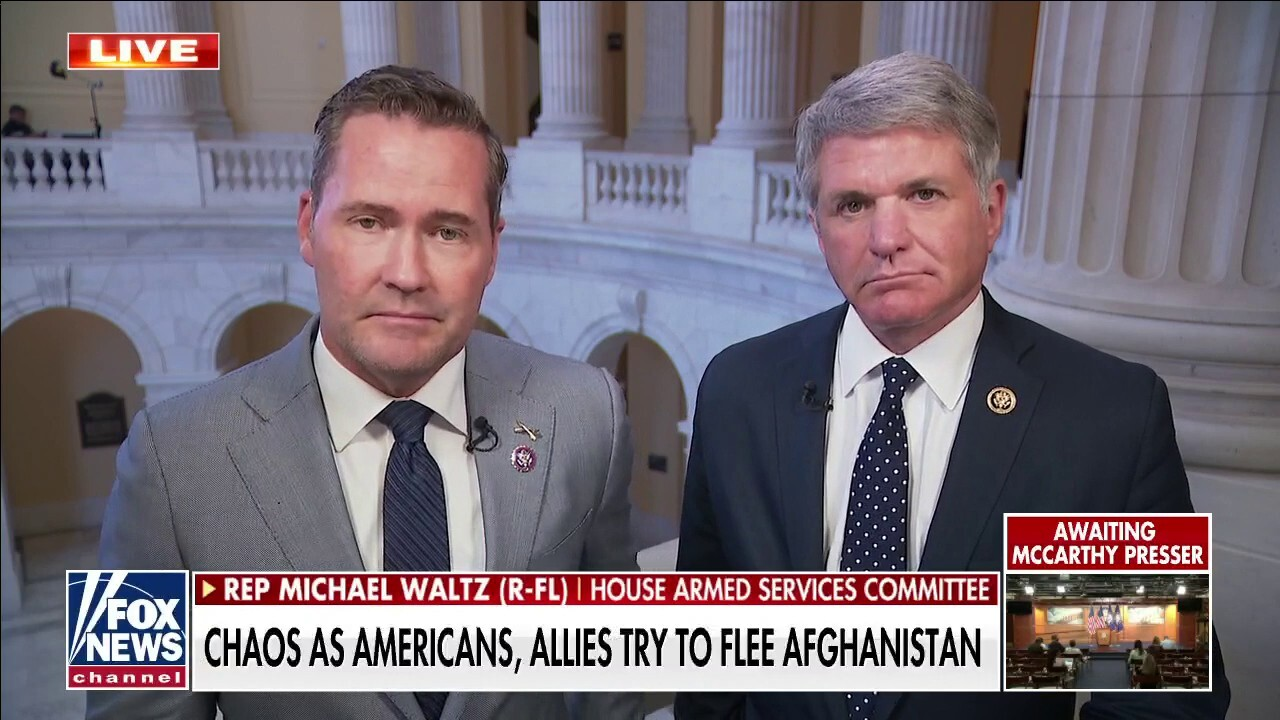 Waltz: 'Mass hostage situation' in Afghanistan will make Iran 1979 'look like a sleepover'