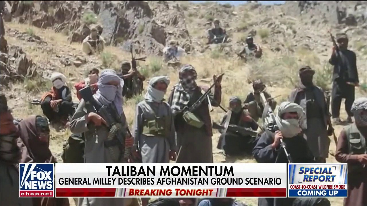 Taliban gains control of more Afghanistan districts as US troops leave