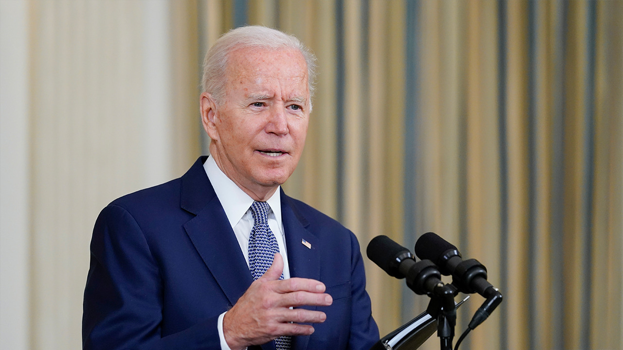 President Biden gives remarks in Louisiana following Ida briefing with local leaders
