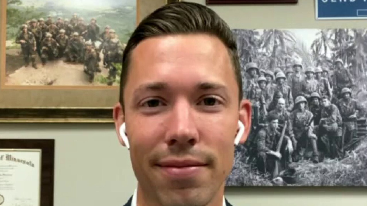 Marine veteran running for Congress calls out Minneapolis leaders for letting city burn