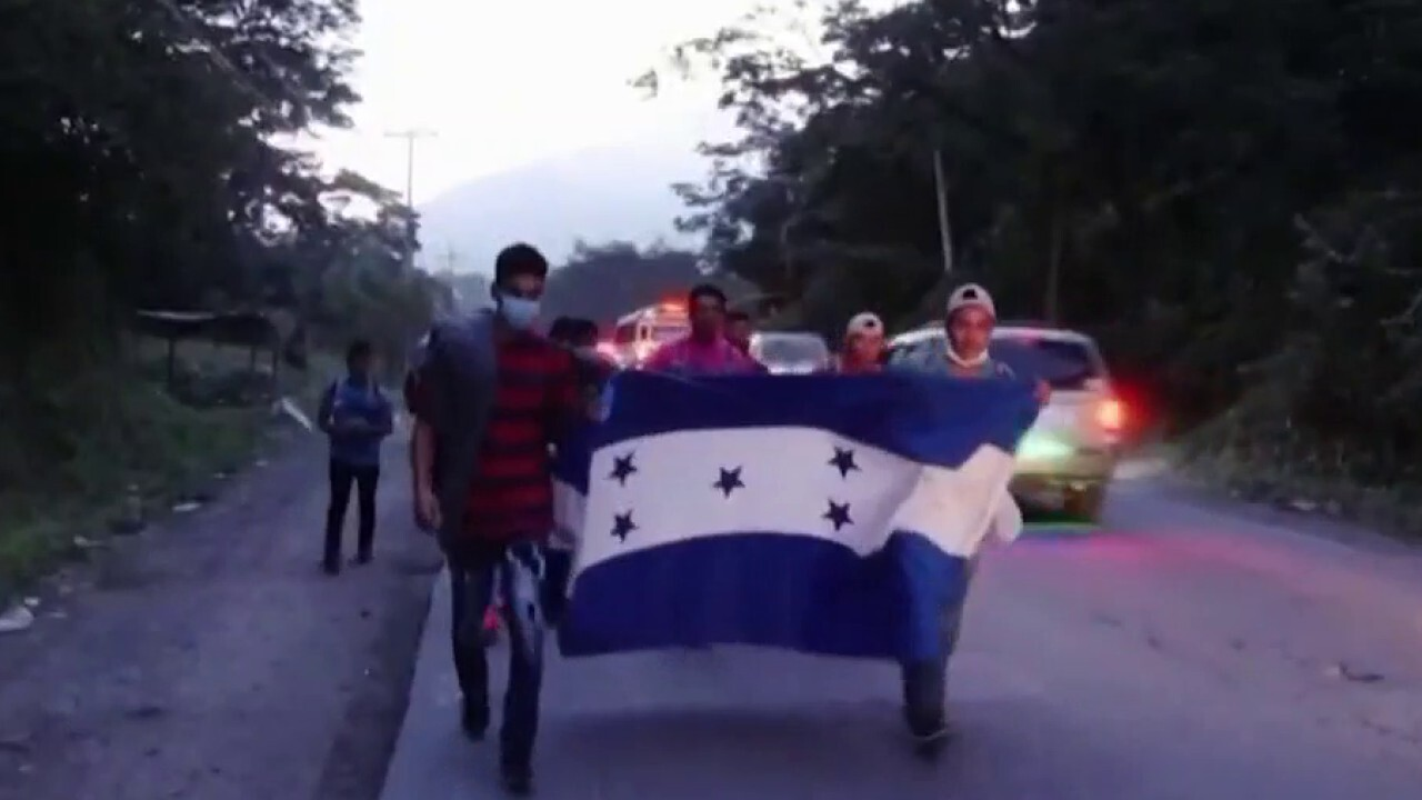 Migrant caravan could pose challenge for Biden in early days of presidency