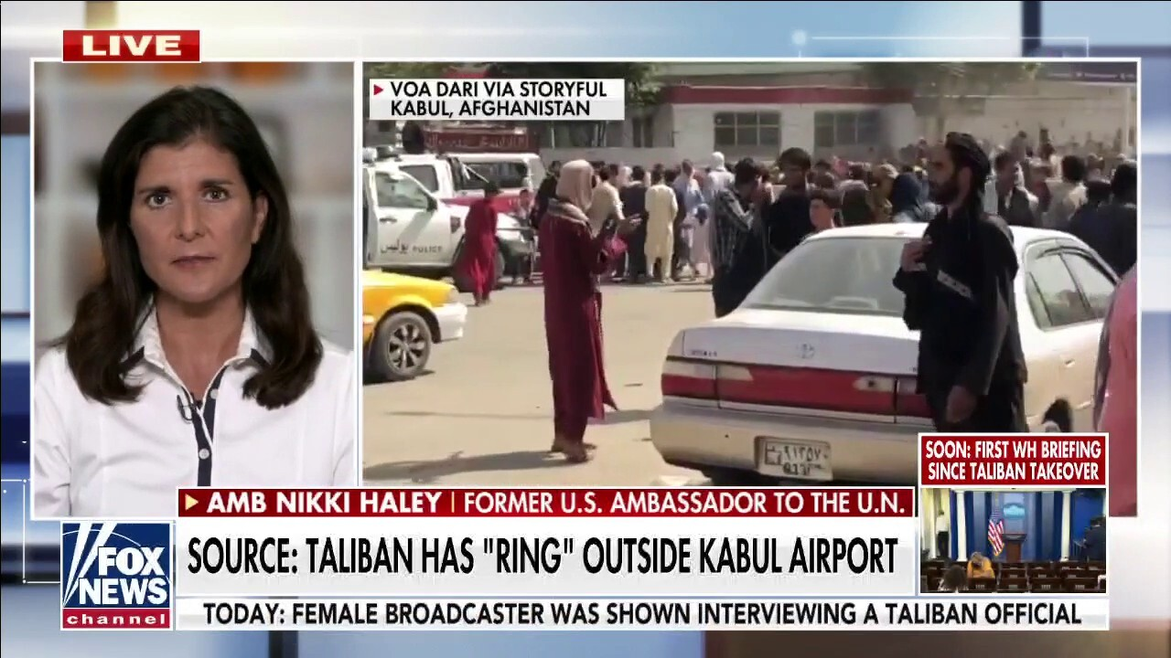 Nikki Haley: Biden 'destroyed' everything we've done in Afghanistan and 'humiliated' America