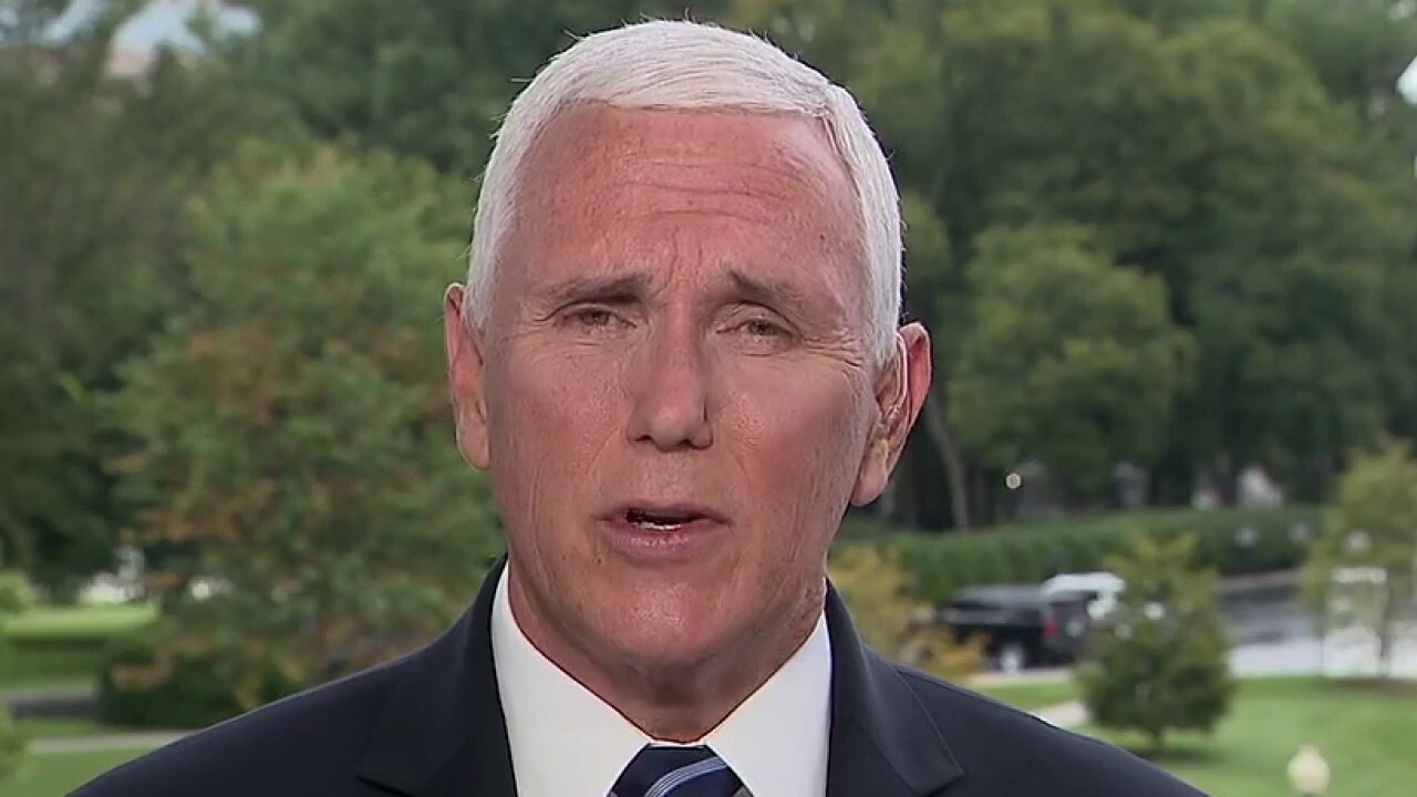 Mike Pence: Trump put the health of America first since day one