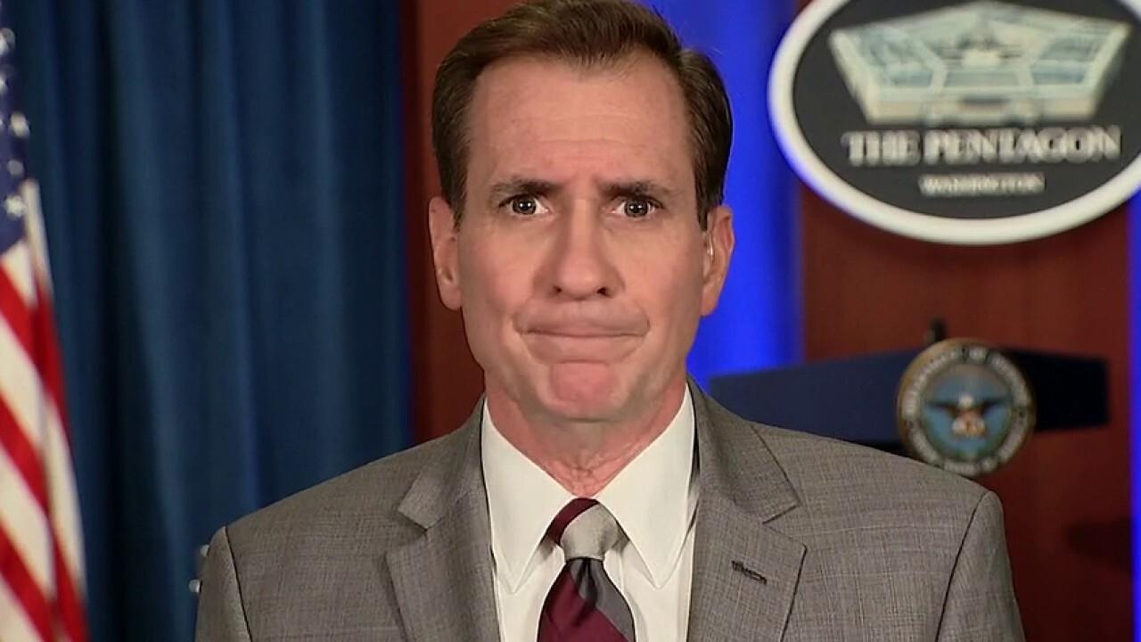 Pentagon spokesman Kirby on DC National Guard deployment