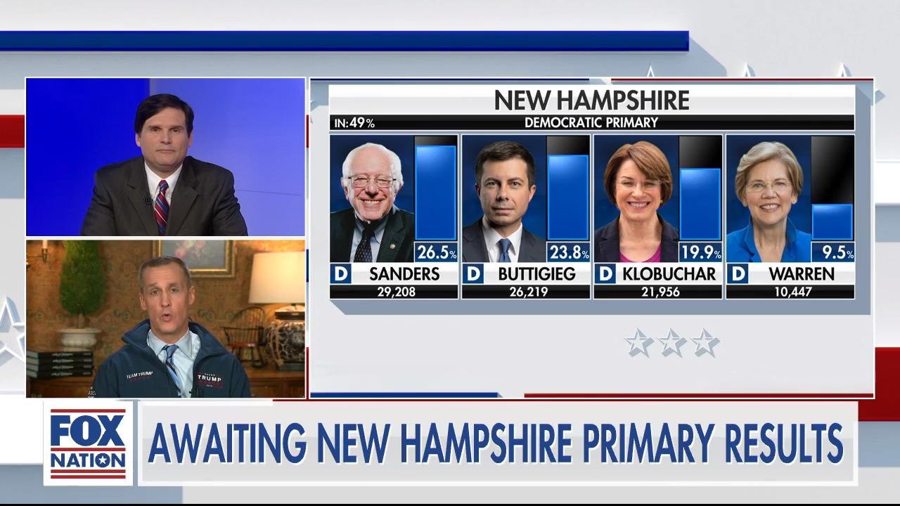 Corey Lewandowski breaks down New Hampshire Democratic primary results