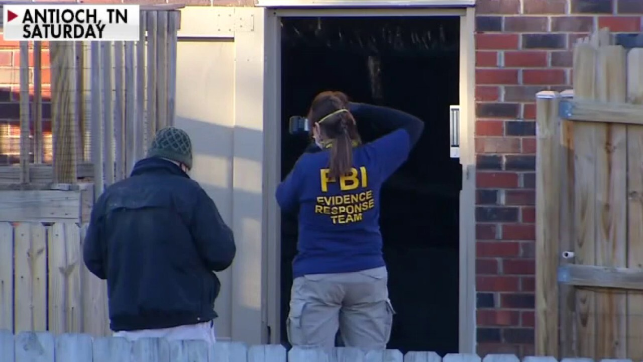 Nashville Christmas Day bombing investigators search person of interest's home