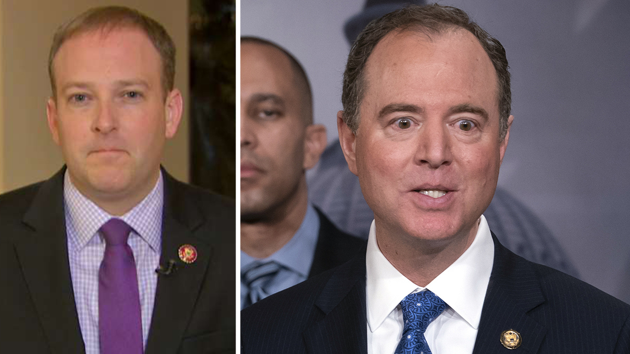 Schiff can't fix impeachment case with 'desperate' calls for additional witnesses, Rep. Zeldin says