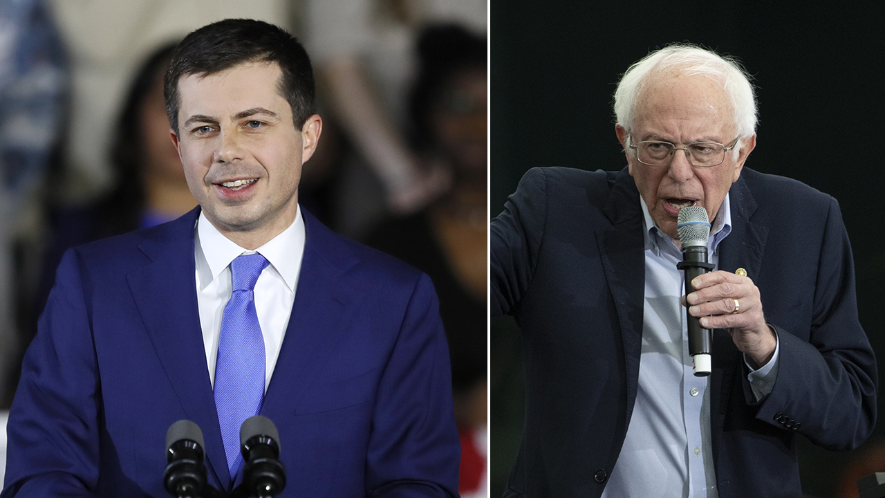 Buttigieg holds narrow lead over Sanders as Iowa caucus results continue to trickle in