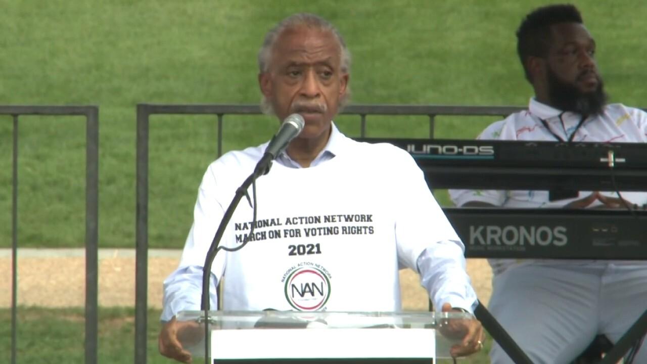 Rev. Al Sharpton calls on President Biden to deliver voting rights legislation for Black America