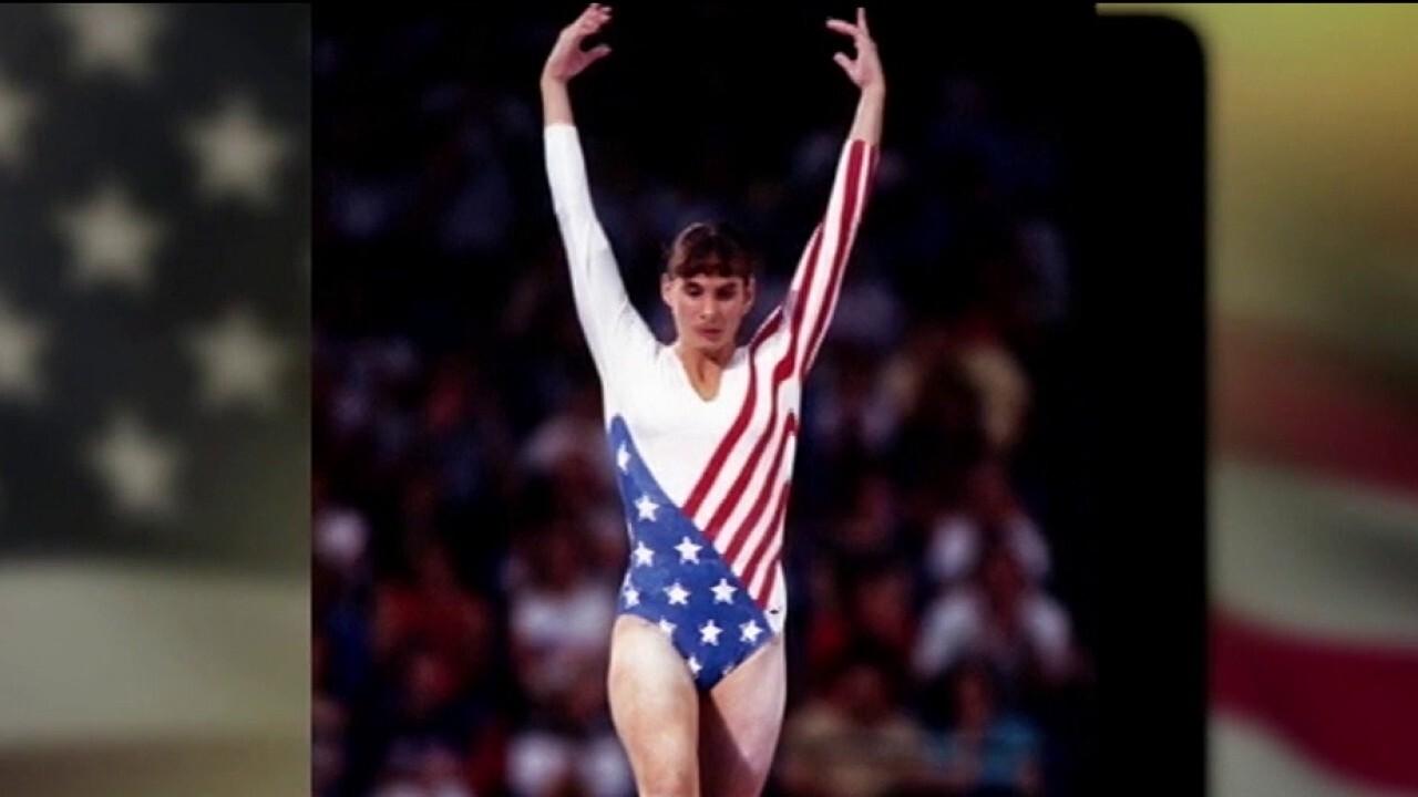 Tracee Talavera was first Latina on US gymnastics team