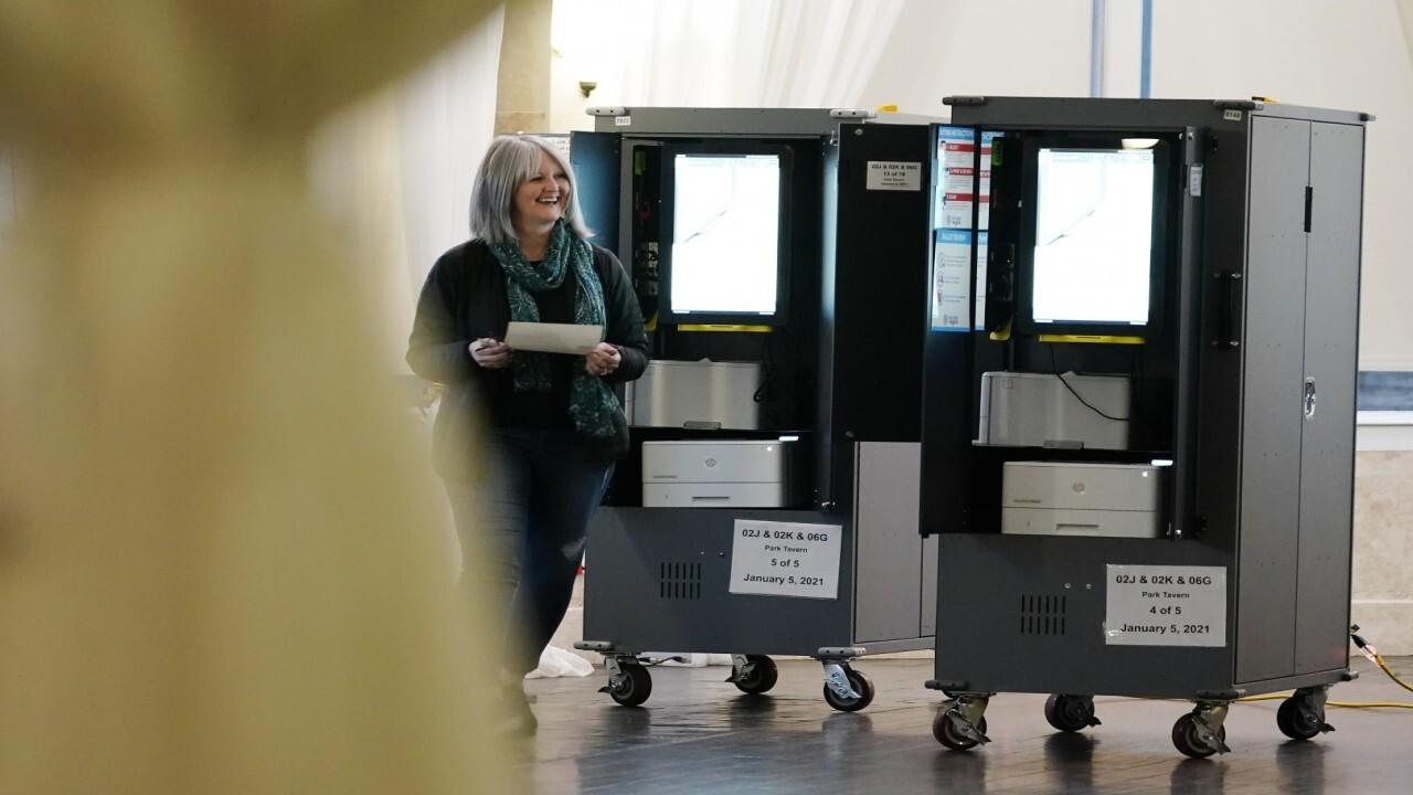 Polls close, ballot counting underway in Georgia Senate runoffs
