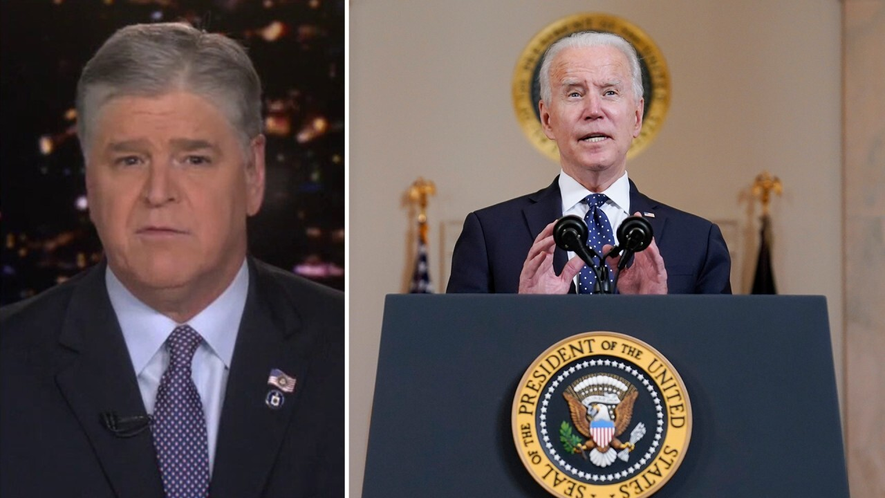 Hannity reacts to Biden's call for Americans to 'protest with purpose'