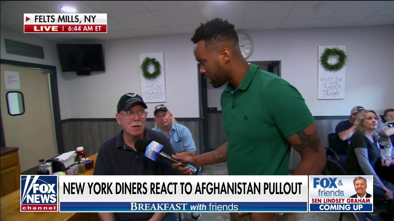 'Breakfast with Friends' asks upstate New York diners about Afghanistan: 'There's no plan'