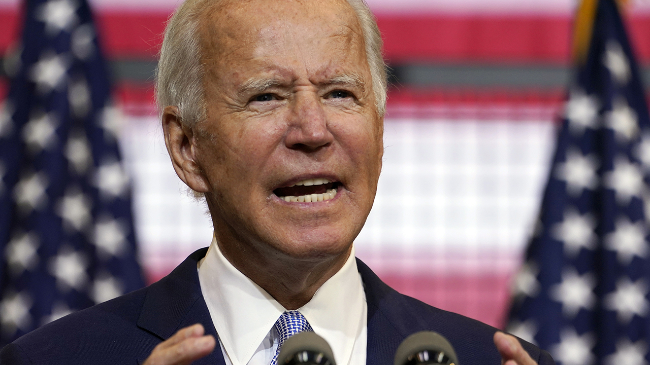 Joe Biden asks if he looks like a radical socialist