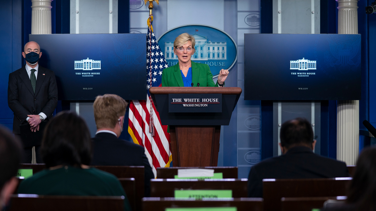 Energy Secretary Granholm: 'There should be no cause for hoarding gasoline'