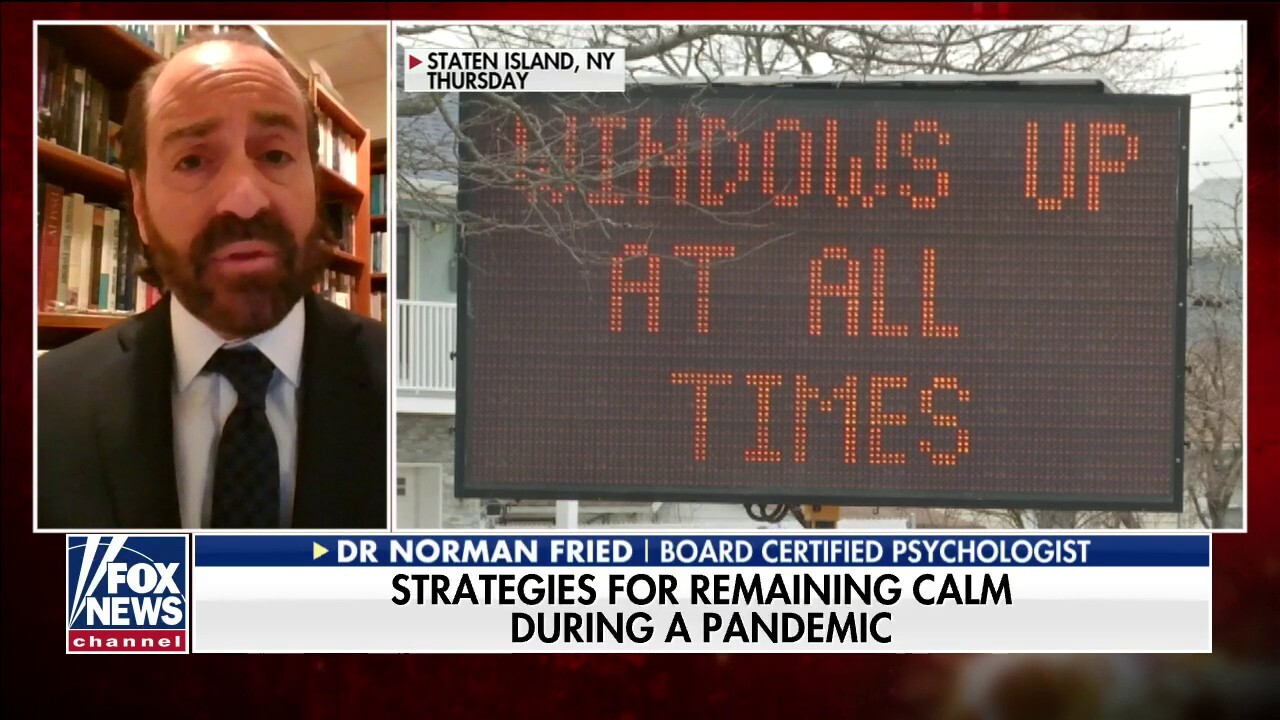 Facts vs. fears: Strategies for remaining calm during COVID-19 pandemic