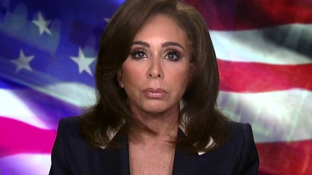 Judge Jeanine slams Biden for 'fumbling' Afghanistan withdrawal