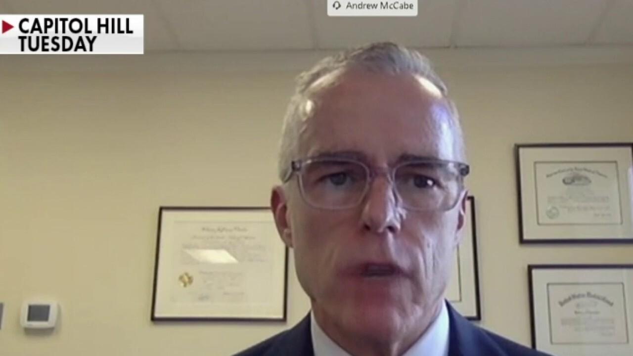 McCabe defends Russia probe