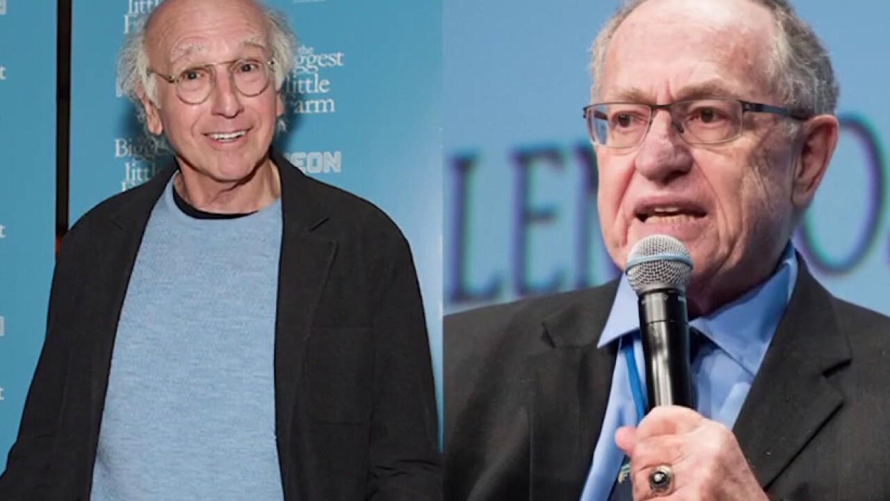 Larry David confronted Alan Dershowitz in grocery store over Trump ties