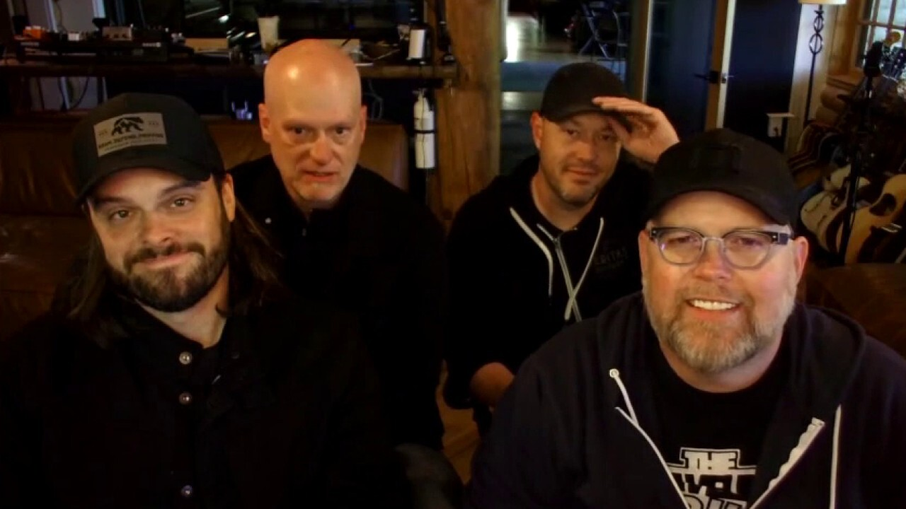 Grammy-nominated MercyMe performs on 'Fox & Friends'