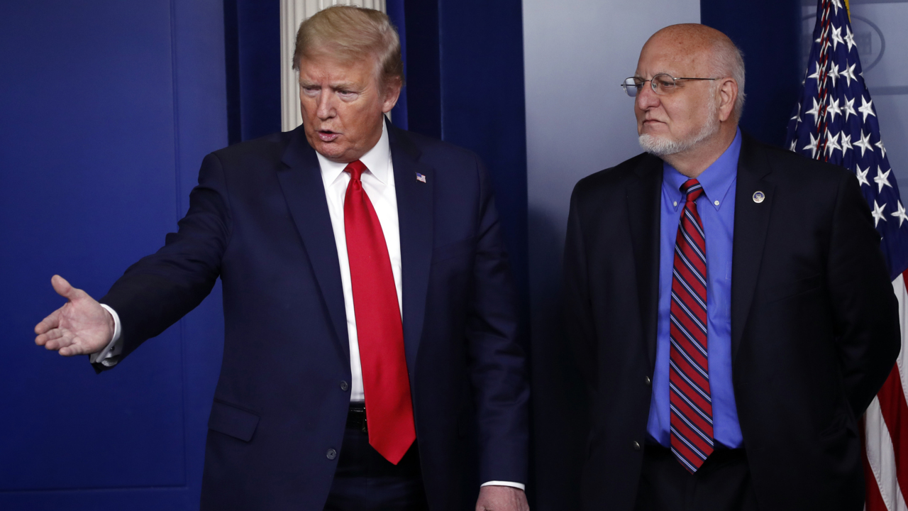 Trump pushes back against CDC director's warning about coronavirus second wave